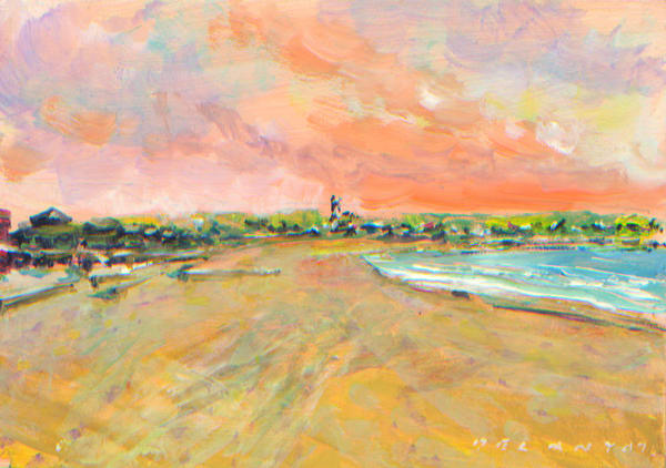 First Beach Newport RI Art Print