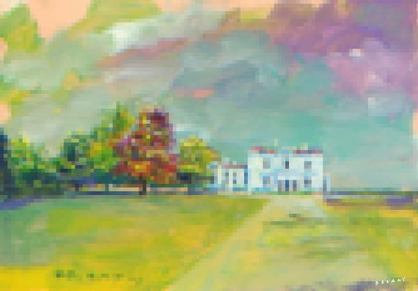 Astor Beechwood Mansion #1 Pixel Print