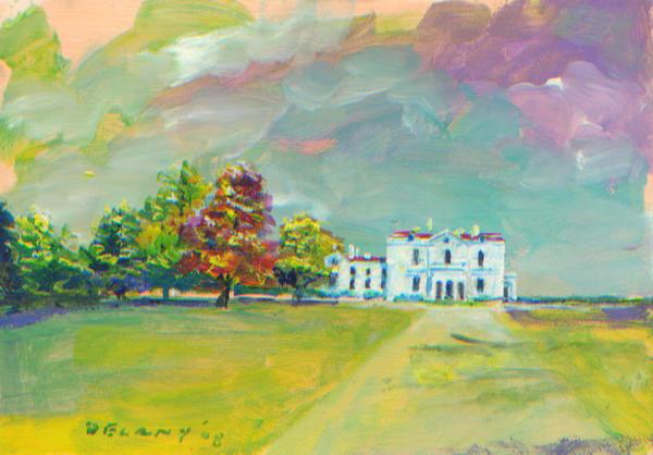 Astor Beechwood Mansion #1 Art Print