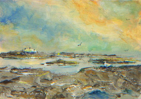 Newport, RI Ocean Drive #1B Art Print