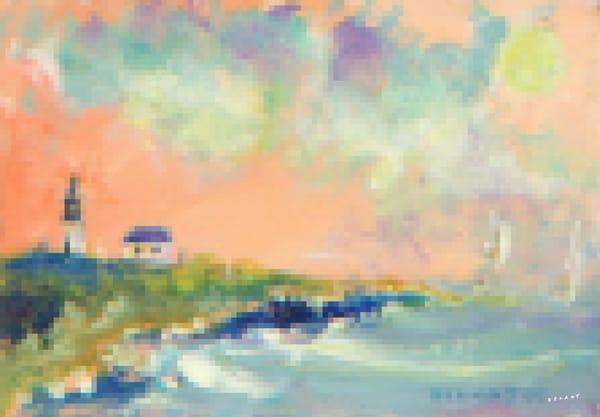 Point Judith Light Pixelated