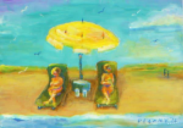 Horseneck Beach #5 Pixel Print