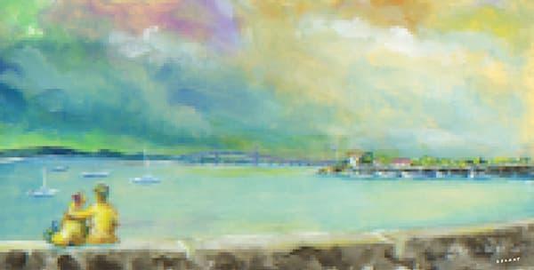 Ida Lewis Yacht Club Pixel Print
