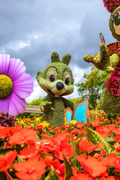 Topiary Chip - Epcot F&G Gallery | William Drew