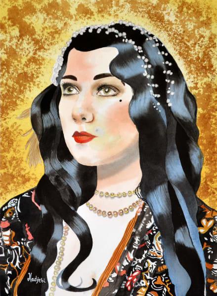 Sam - Watercolor portriat