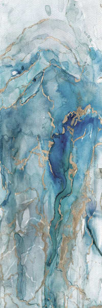 Abstract Lapis Light Panel I by artist Carol Robinson