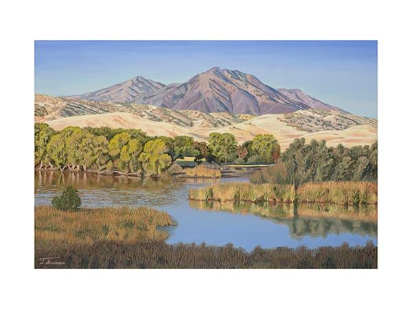 18x24 Mt. Diablo On Paper Art | HFA print gallery