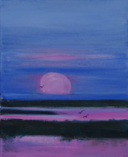 Moon Over Chobe by Diana Madaras | Tucson