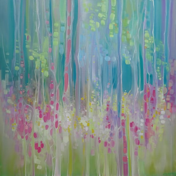 Abstract Summer - a summer wildflower impression
