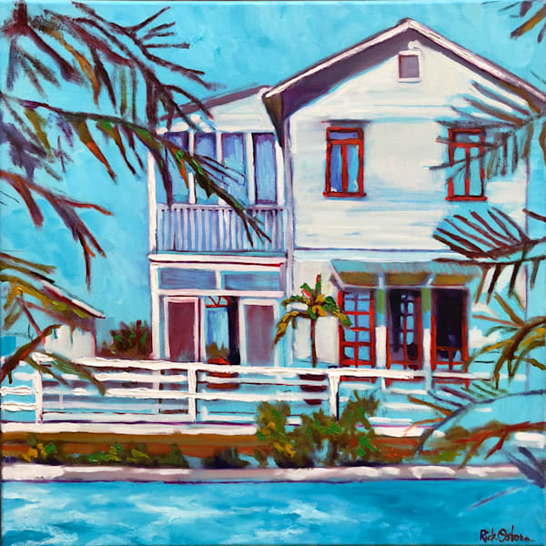 Blue By You | Fine Art Oil Painting by Rick Osborn