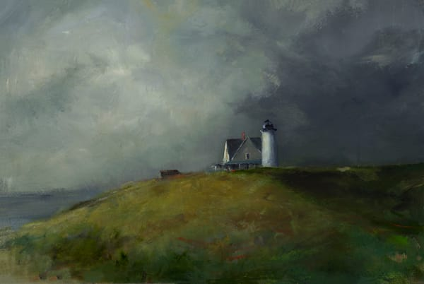 "Sandy Neck Light House 24"" x 36"""
