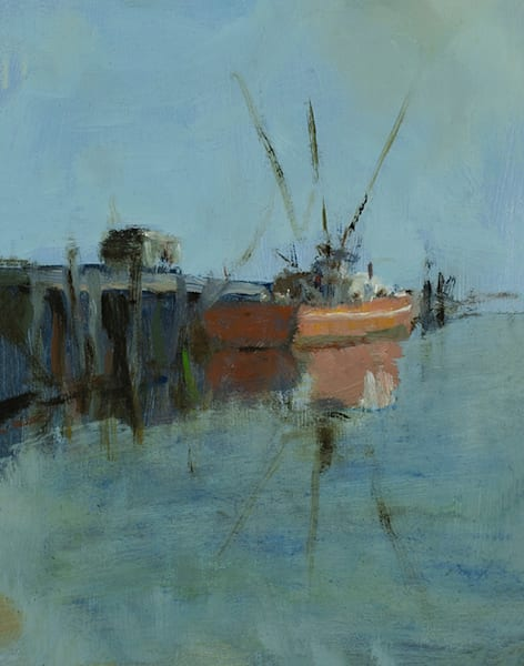 "Fishing Boat 10"" x 8"""