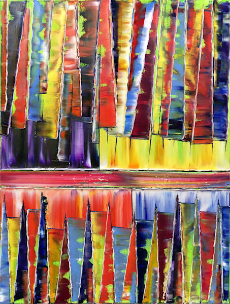 Play My Keys abstract paintings
