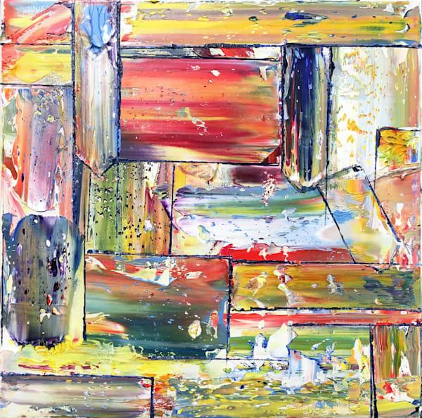 Making Plans original abstract art