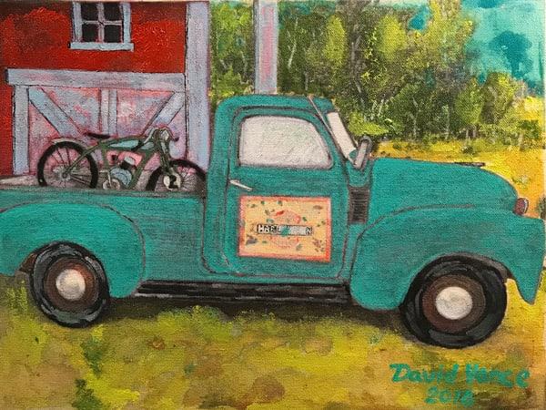 Behind The Barn Art | DavidPVance Prints