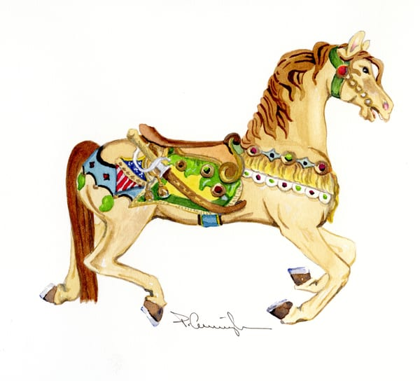 carousel horse027
