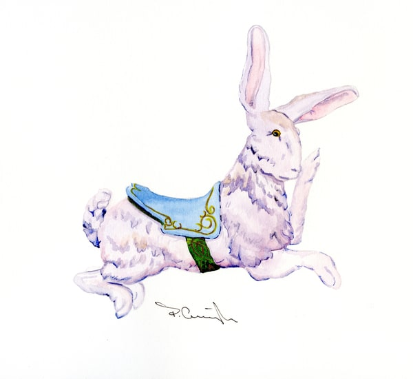 carousel rabbit030