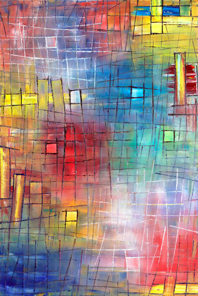 Windows Of Opportunity abstract painting
