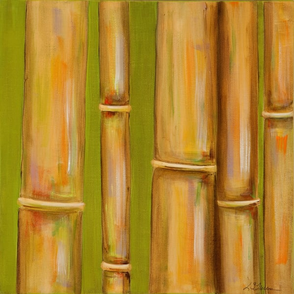Travels In Bamboo:  Going Green Art | Studio Artistica