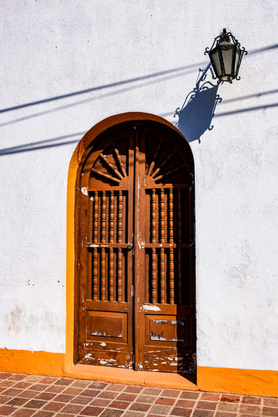 DP577 Brown Door Todo Santos