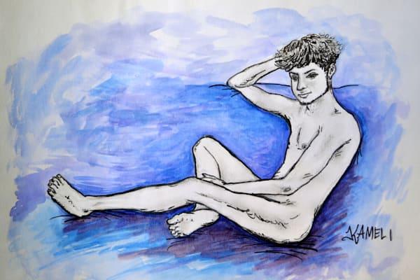 At Ease Art | kamelifineart