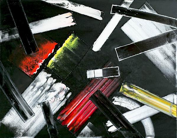 Violence In Velvet original painting