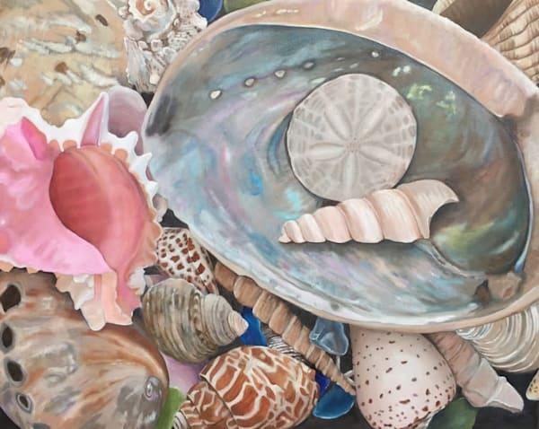 Sea Shell Symphony by Adriana Rinaldi | SavvyArt Market original painting