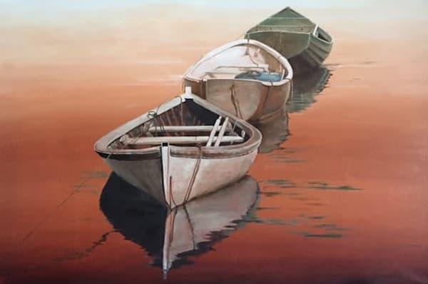 Vintage Reflections by Adriana Rinaldi | SavvyArt Market original painting