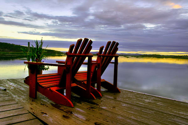 Adirondack Chairs Photography Art | Michael Sandy Photography