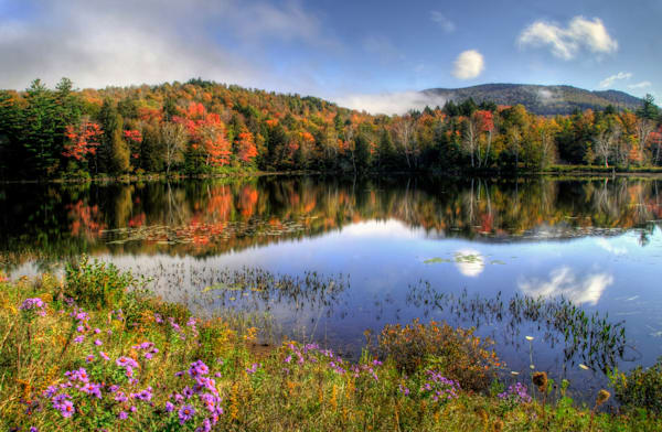 Autumn On Tupper Lake Photography Art | Michael Sandy Photography