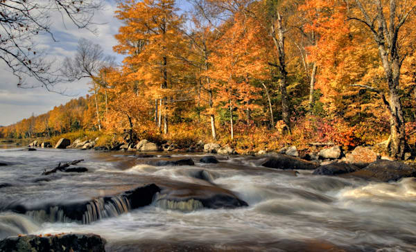 Autumn Rapids on the Ausable