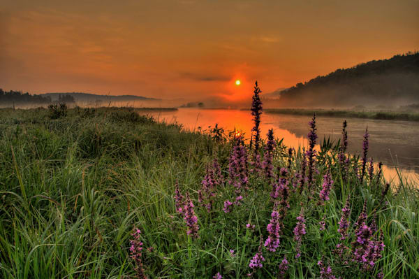 Sunrise On The Saranac Photography Art | Michael Sandy Photography