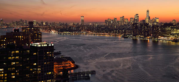 Nyc Sunset Photography Art | Michael Sandy Photography