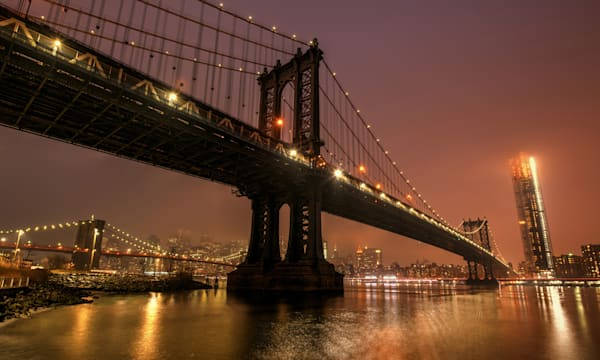 Manhattan Bridge Photography Art | Michael Sandy Photography