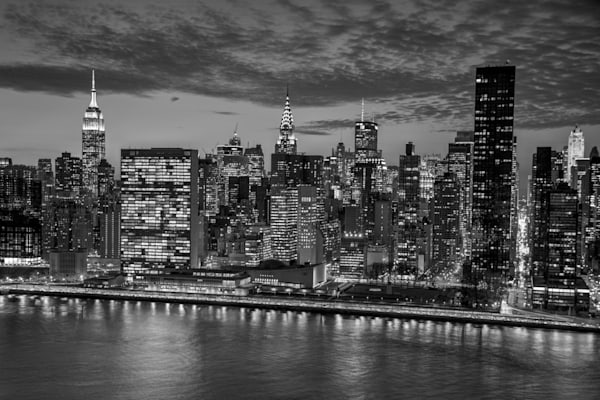 East River Skyline Art | Michael Sandy Photography