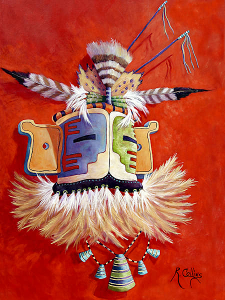 Hopi Ceremonial Mask