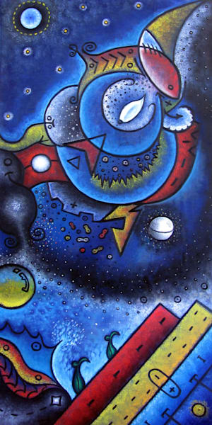 Elements And Dreamscapes original art