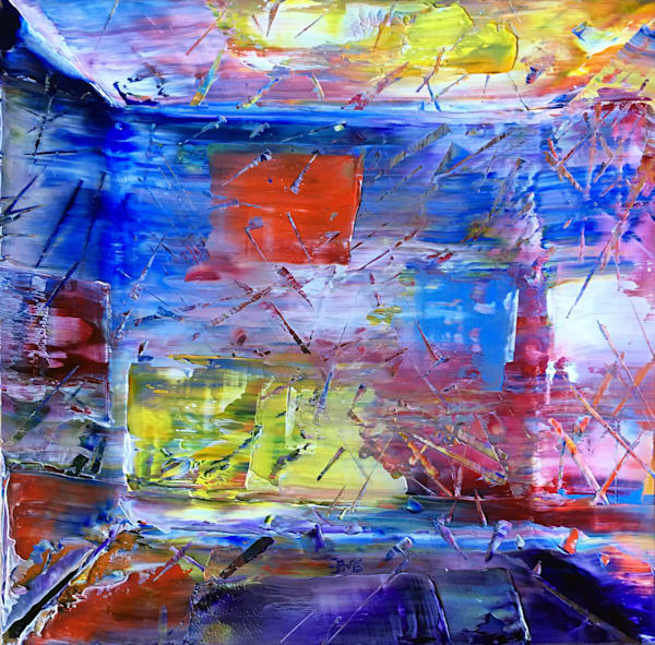 Surrender original PMS oil painting