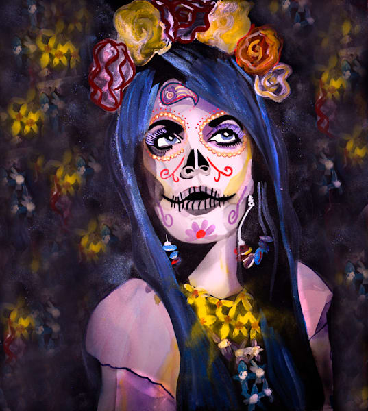 La Catrina De Esperanza Greg Art | William K. Stidham - heART Art
