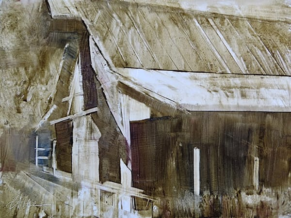 Barn Shadow by Bethe Bathe
