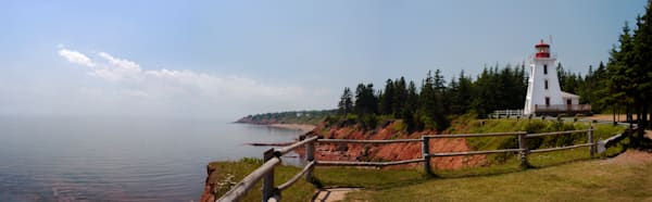 Cape Bear Lighthouse 4 pano