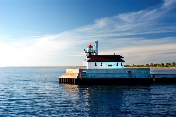 Duluth Harbor Lighthouse  Photography Art | Jim Parkin Fine Art Photography