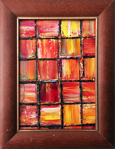 Firestones original PMS micro painting
