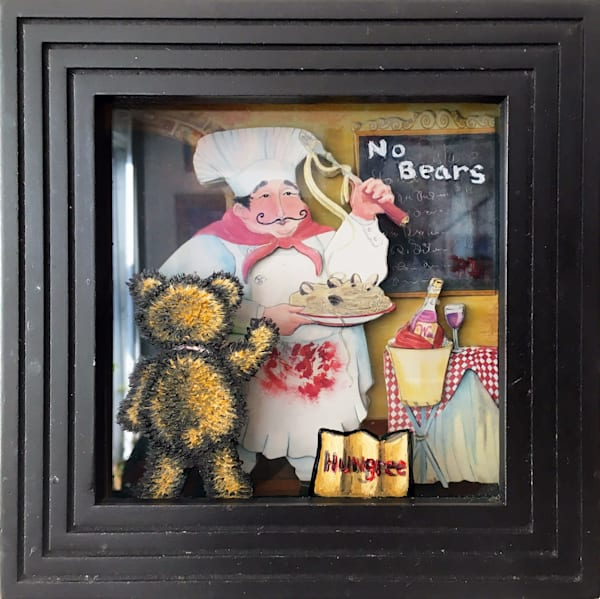 The Little Homeless Bear painting