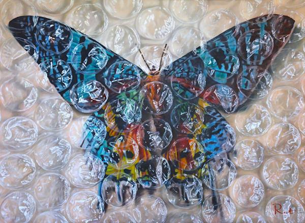 Tomasz Rut Fine Art | Pop Realism | Sunset Moth