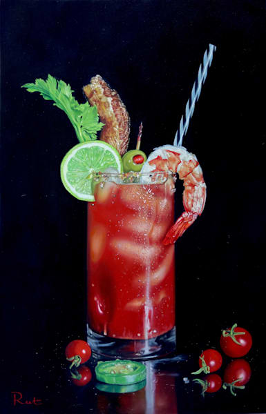 Tomasz Rut Fine Art | Pop Realism | Bloody Mary