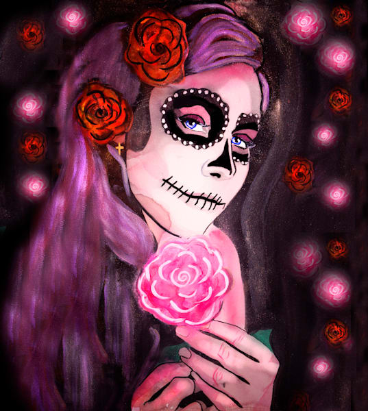 La Catrina De Temptacion Greg Art | William K. Stidham - heART Art