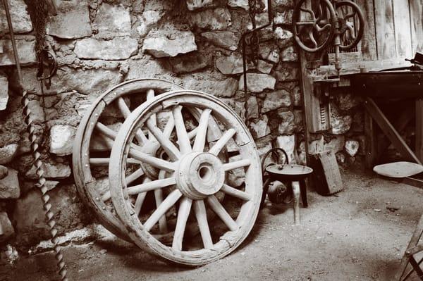Blacksmith Shop, Sepia