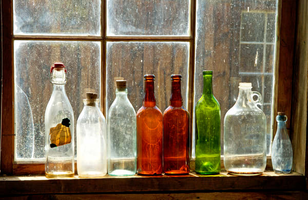 Bottles in a Ghost Town
