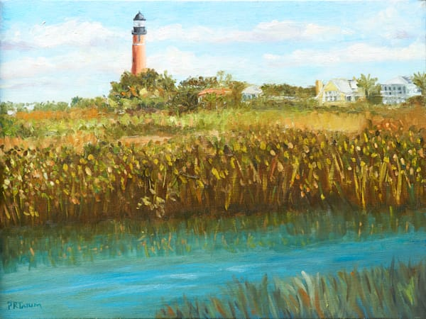 Ponce Inlet Lighthouse Art | Pamela Ramey Tatum Fine Art